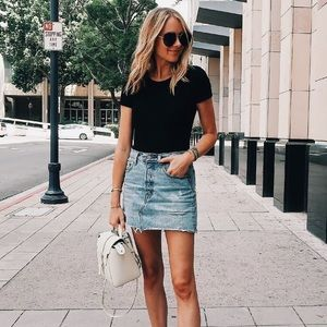 Eighty Two Denim denim skirt